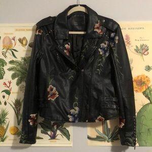 BLANK NYC Nordstrom soft pleather biker jacket